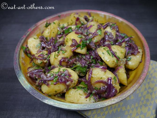 kartoffelsalat mit balsamico zwiebeln eat art others rezepte aus asiatischer und. Black Bedroom Furniture Sets. Home Design Ideas