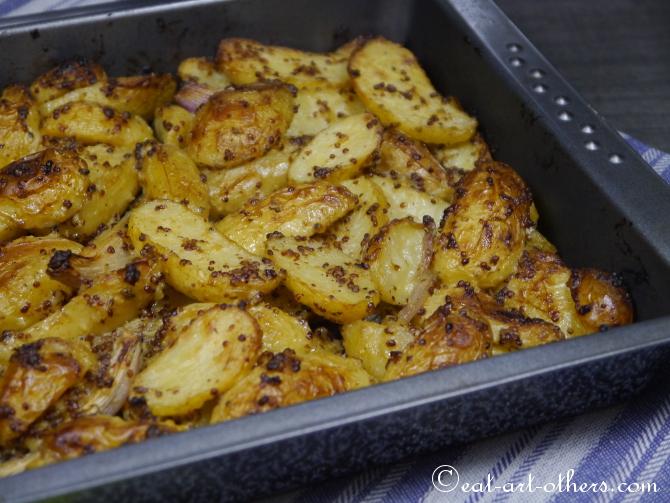 Ofenkartoffeln auf schwedische Art
