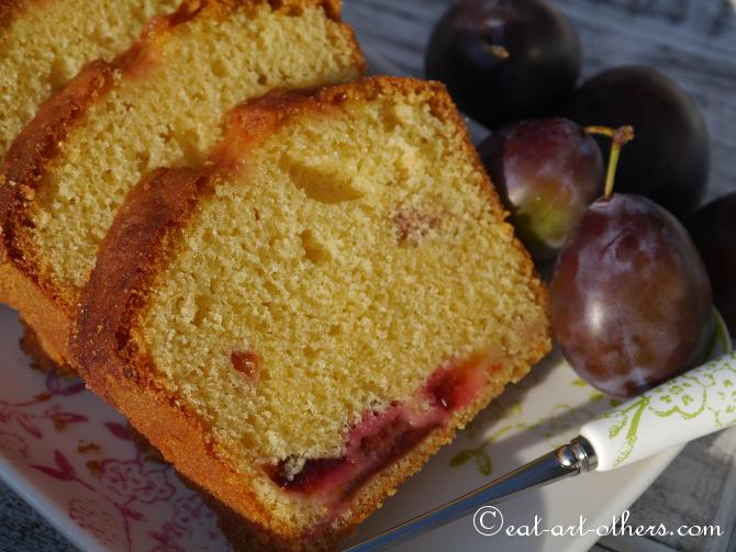 Beschwipster Zwetschgen-Cake