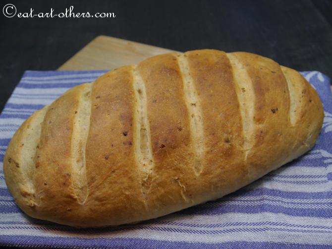 Knoblauch-Zitronen-Brot