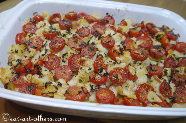 Baccalà con Patate al forno 2