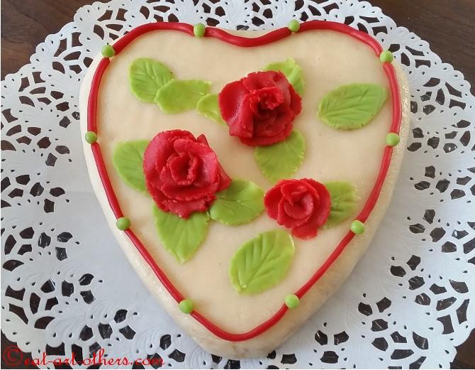 20150213_141442. Herz Torte Zum Valentinstag ...