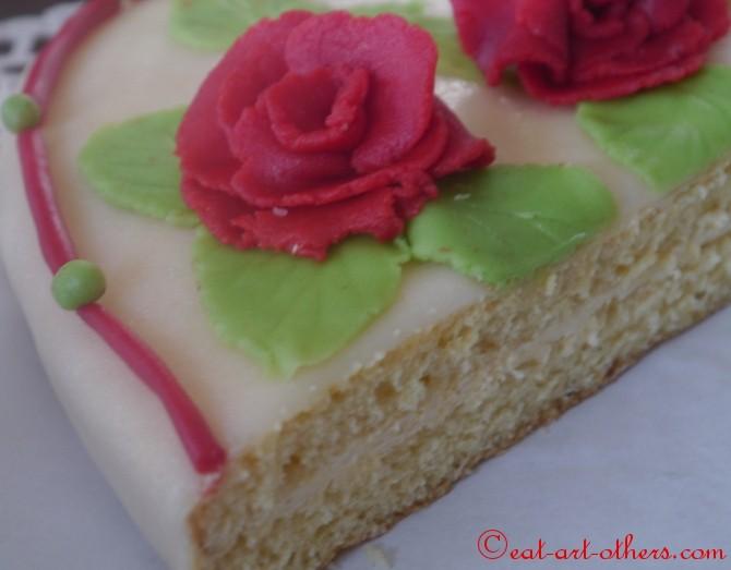 Herz-Torte zum Valentinstag (2)