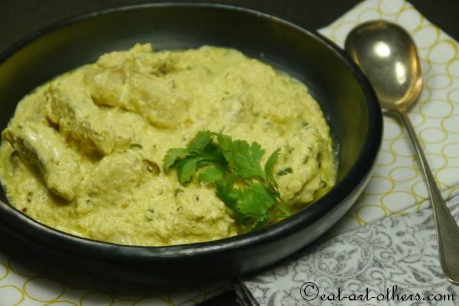 Bengalischer Fisch in Joghurtsauce