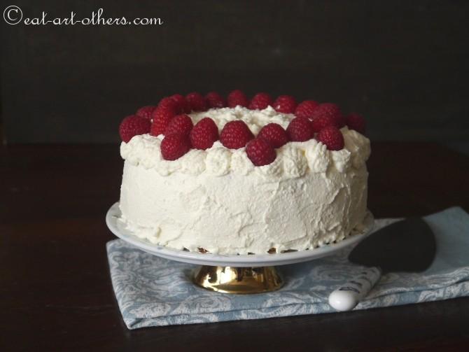 Himbeer-Sahne-Torte II